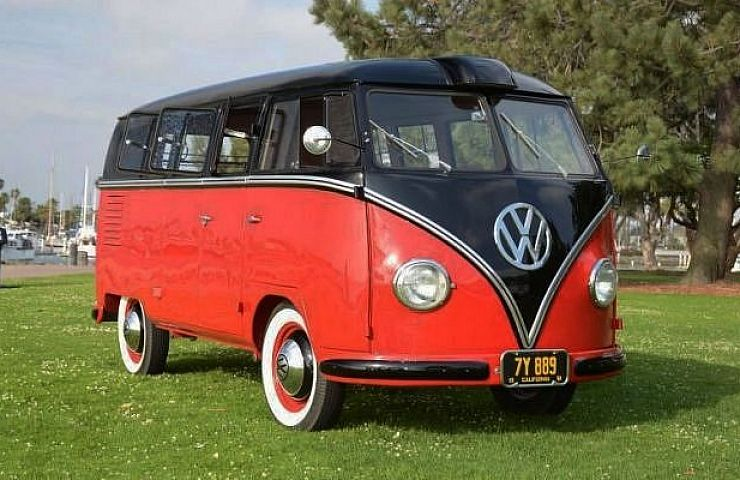 cd52aa7e5f Immaculate and Rare 1955 Kombi-Style VW Bus Available on eBay