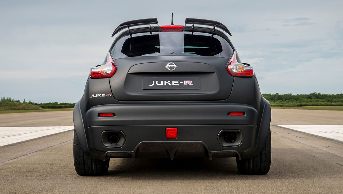 Awesome Late Last Month, Nissan Announced It Will Produce 17 Examples Of Its  Bizarre And Awesomely Fast Juke R. The New Version Of The Model, Dubbed Juke  R 2.0, ...