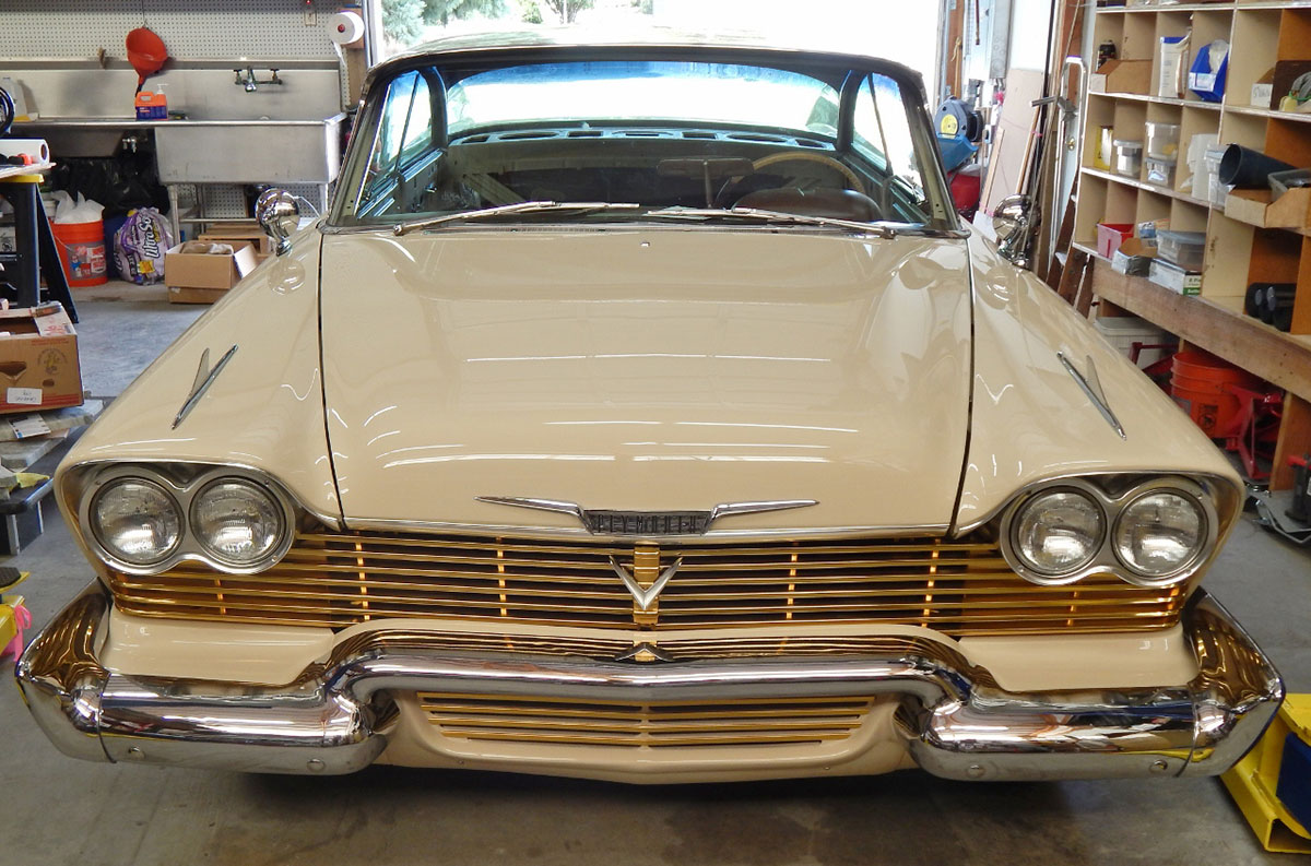 Restoring a 1958 Plymouth Fury (Nothing To Do With \
