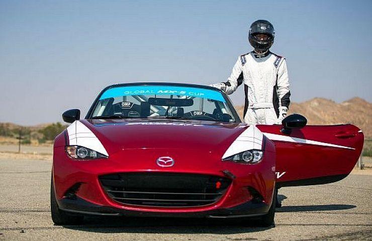 Behind the Wheel of the New Mazda MX-5 Cup Race Car | eBay Motors Blog