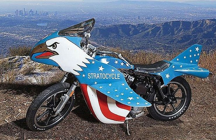Ebay Auction Stratocycle Used By Evel Knievel In Viva Knievel Ebay Motors Blog