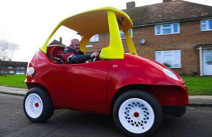 Full Scale Little Tikes Toy Car Super Sizes Childhood Fun Ebay Motors Blog