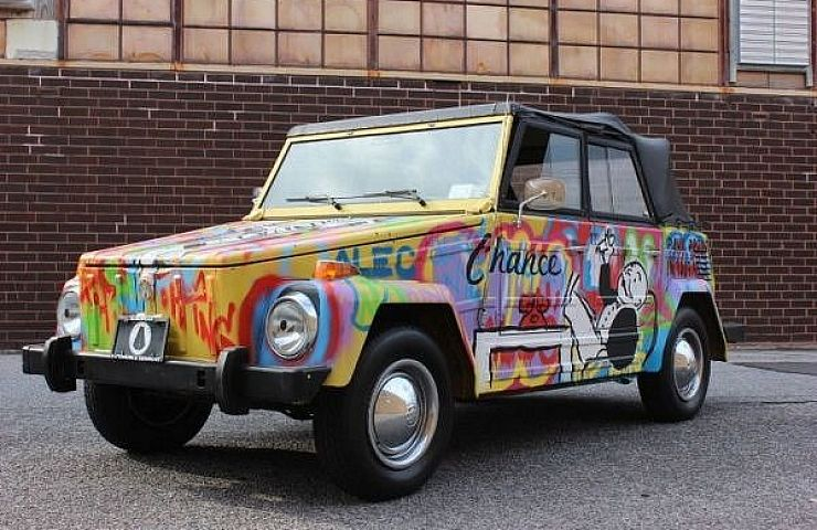 Listed on ebay vw thing art car painted by famous street artist in early 2013 the well known street artist known as alec monopoly used a 1973 volkswagen thing as a canvas on wheels the artist employed his signature altavistaventures Images