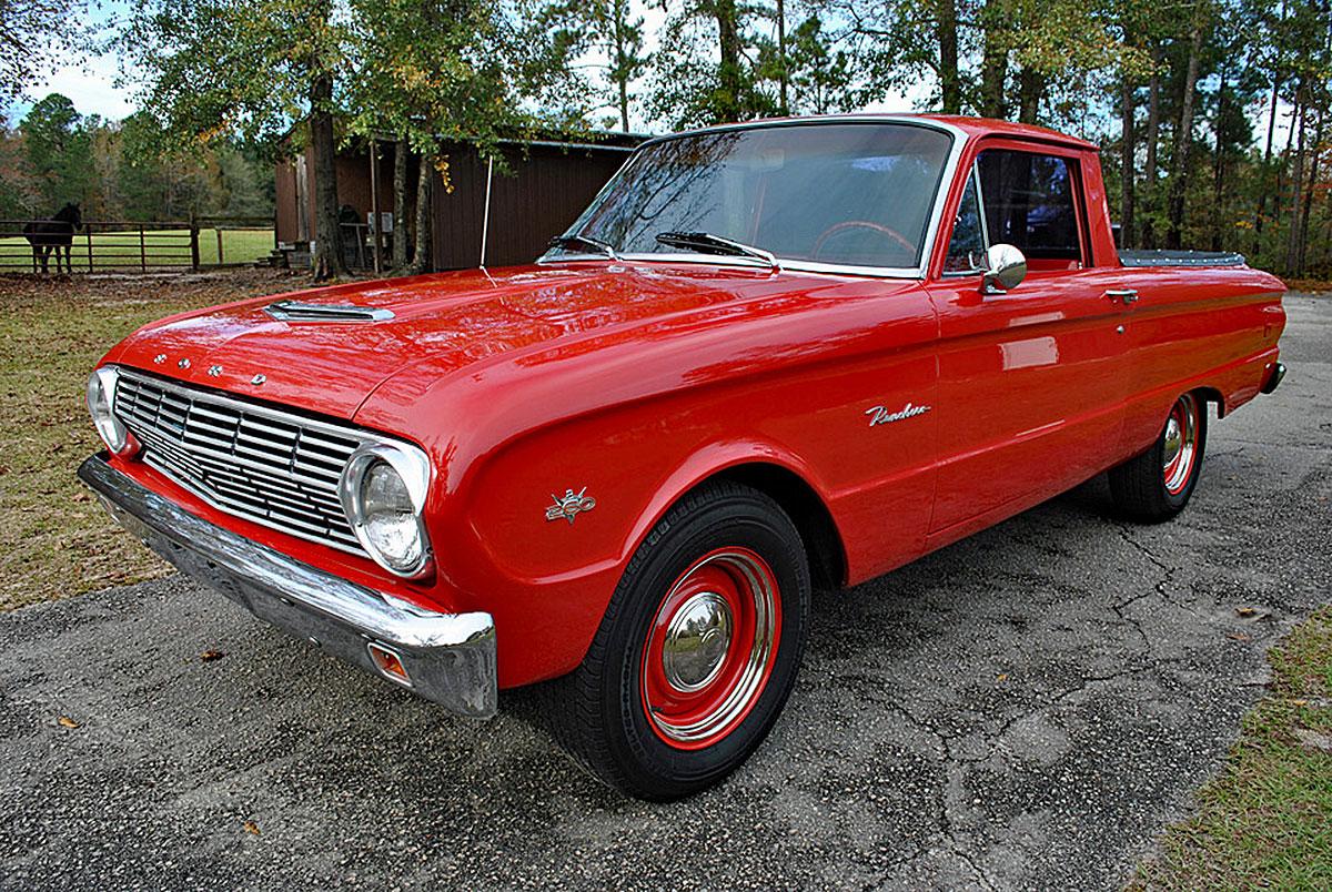 What Would Santa Drive? This 1963 Ford Ranchero? | eBay Motors Blog