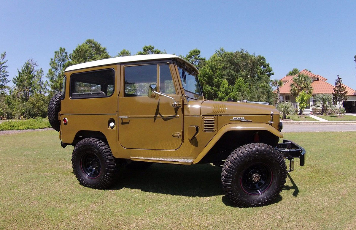 Affordable Classic 4x4 The Toyota Fj 40 Land Cruiser Ebay Motors Blog 1973 Repair Manual Of All Vehicles Built In Past 60 Years Fj40 Is Perhaps Most Iconic Simple Sturdy And Ready For Whatever Roads Might Come Its Way