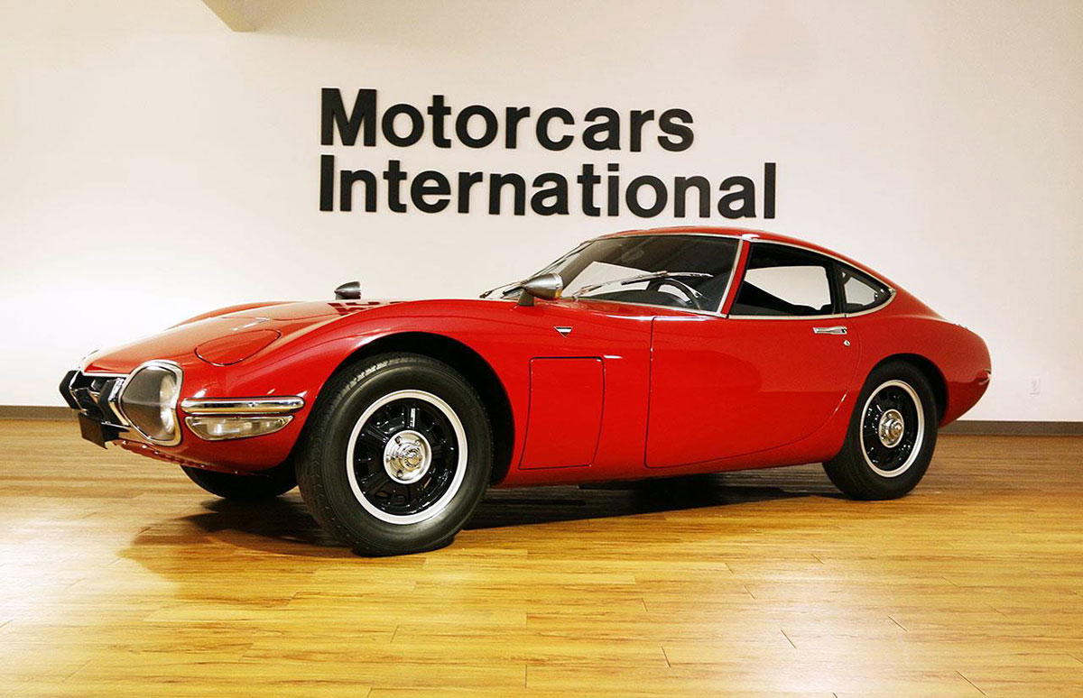 Toyota 2000GT: The Million-Dollar Japanese Collectible