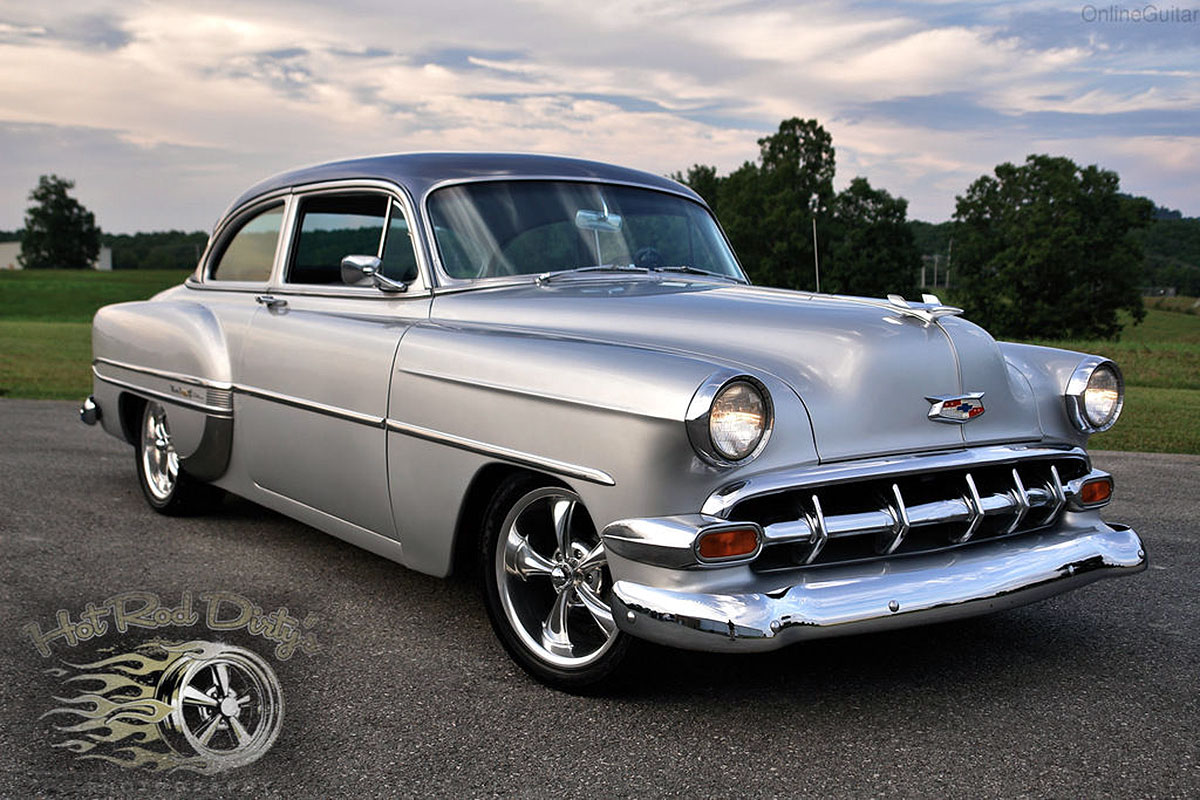 They Call Me Mr Tuxedo Restomod 54 Chevy Bel Air Ebay Motors Blog 1954 Truck Cleaner This Meticulously Resto Modded Offered Now On Can Best Be Described As Refined The Straight Southern Body Is Finished In Silver