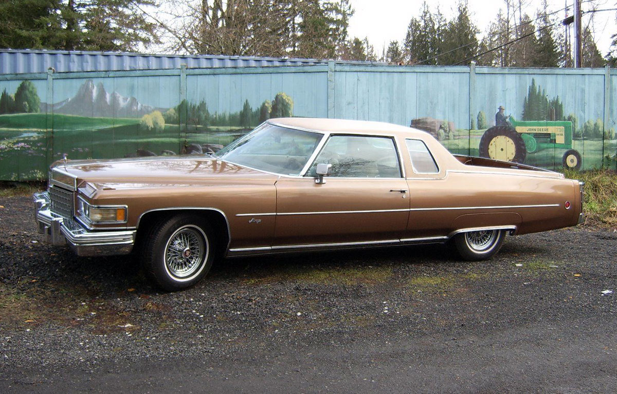 This 1976 Cadillac Mirage Is The Escalades Grand Daddy Ebay