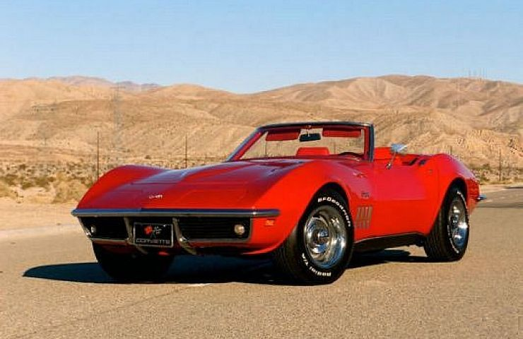 The Undeniable Appeal of a Red Corvette Stingray Convertible