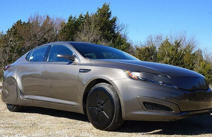 Available On Ebay The Kia Optima That Starred In Robocop Remake