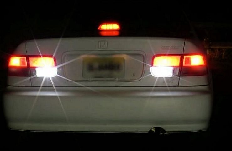 Try replacing the old incandescent taillight bulbs in your car or truck with state of the art led bulbs