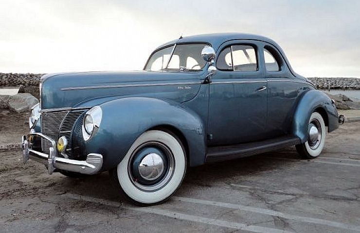 The graceful 1940 ford was a favorite for moonshiners for Ebay motors and cars