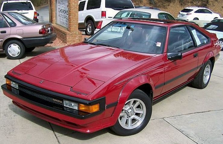 Forgotten 80s classic 1982 1986 toyota celica supra for Ebay motors and cars