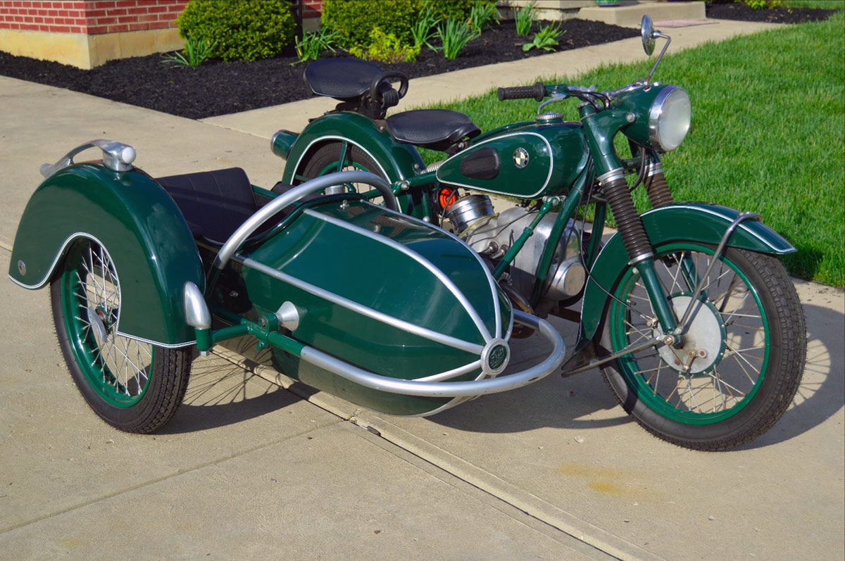 Ebay Motors Motorcycles >> Love On Three Wheels The 1953 Bmw R51 3 Ebay Motors Blog