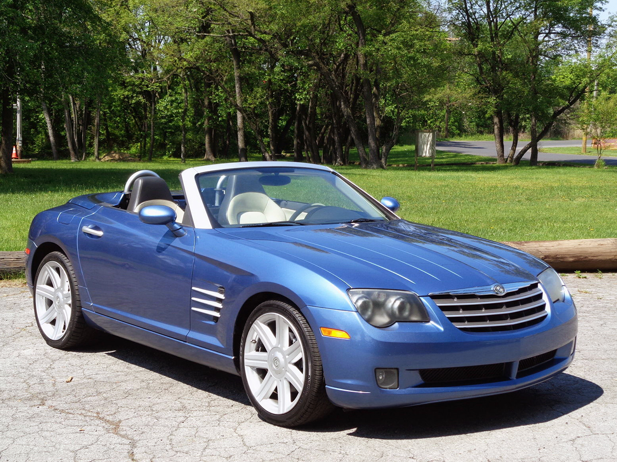 detail convertible speed chrysler crossfire used at