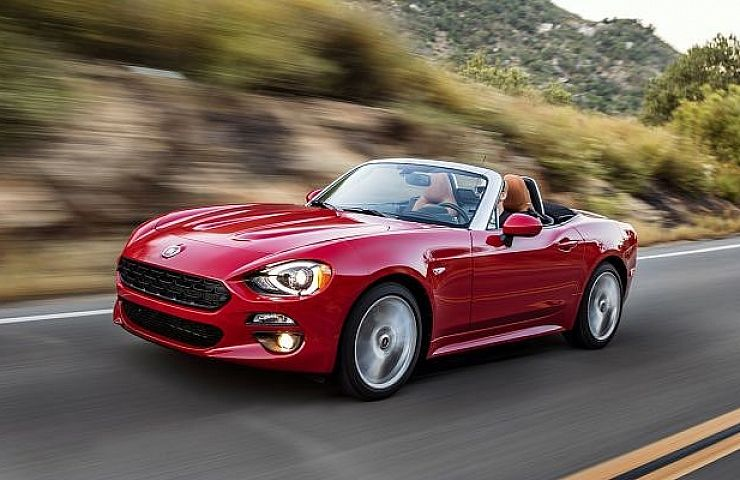 2017 Fiat 124 Spider Japanese Engineering And Italian Flair Ebay