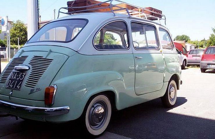 Fiat S 1960s Tiny Minivan Moved Six People With Style Ebay Motors Blog