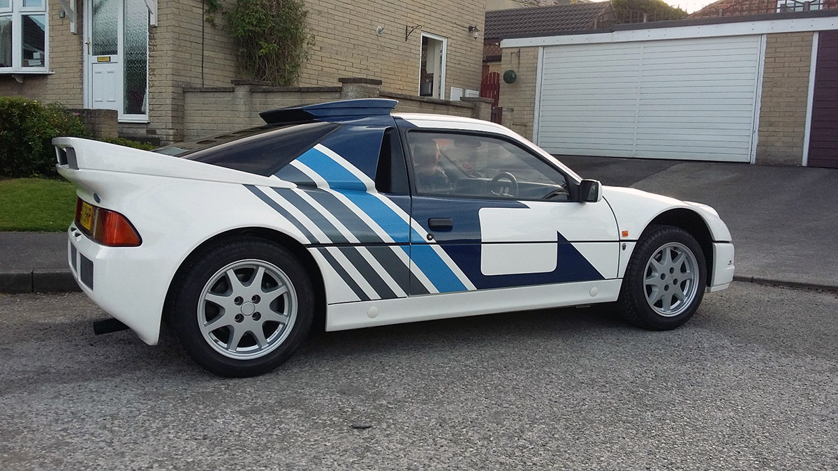 Ford RS200 Is the Ultimate 1980s Bonkers Rally Machine | eBay Motors ...