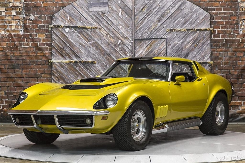 An Ultra-Rare High-Performance 1969 Corvette from Motion Performance ...