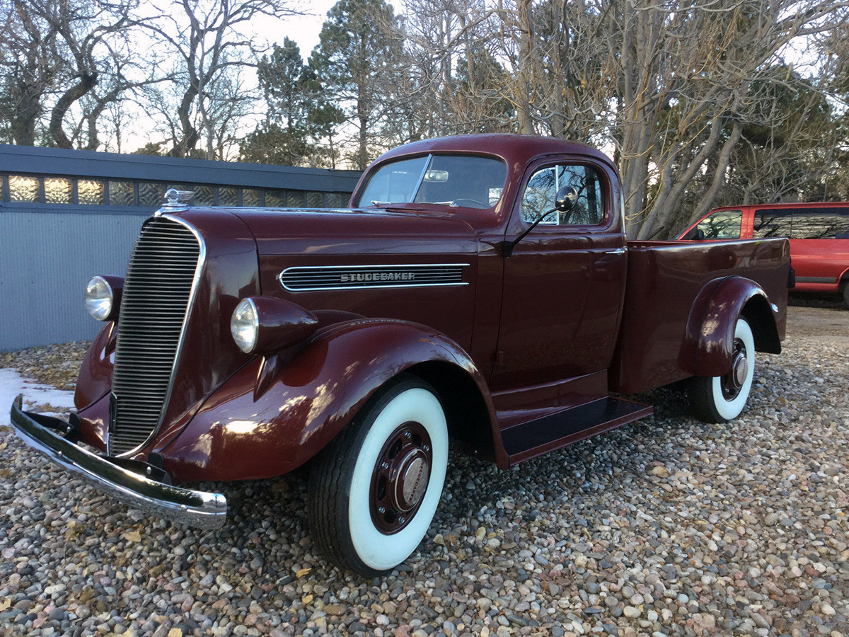 1938 Studebaker K10 Pickup: A Great Early Example of Raymond Loewy ...