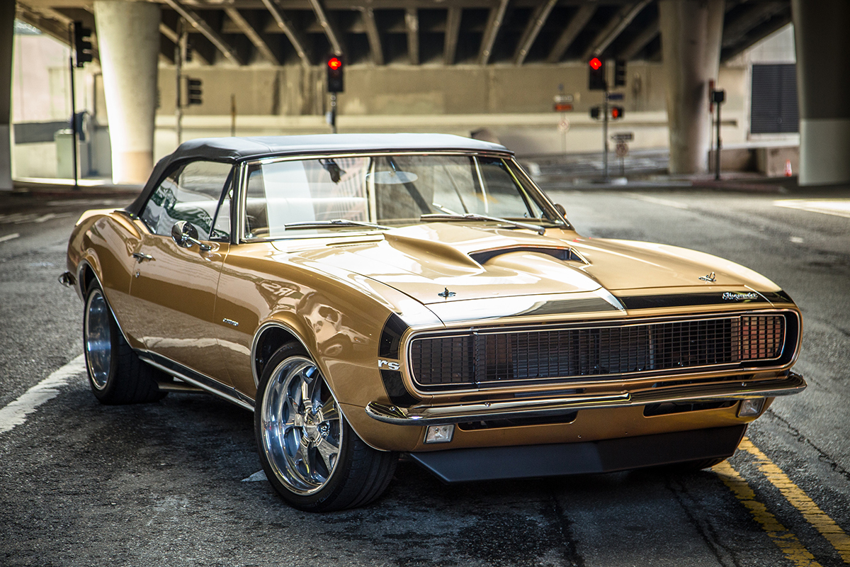 1967 Camaro Restomod: Muscle-Car Styling Meets Serious Track Power ...
