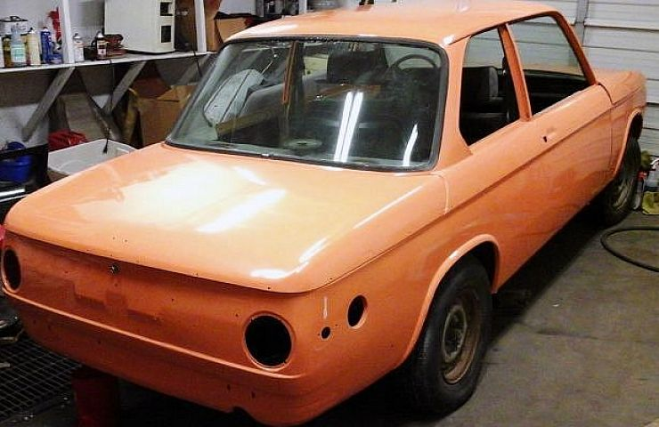 A Rare and Collectible BMW 2002 Tii—But It\'s a Project | eBay Motors ...