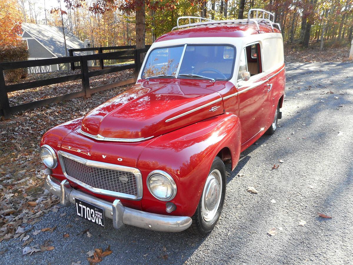 1959 Volvo 445 Duett Is a Classy Panel Truck | eBay Motors Blog