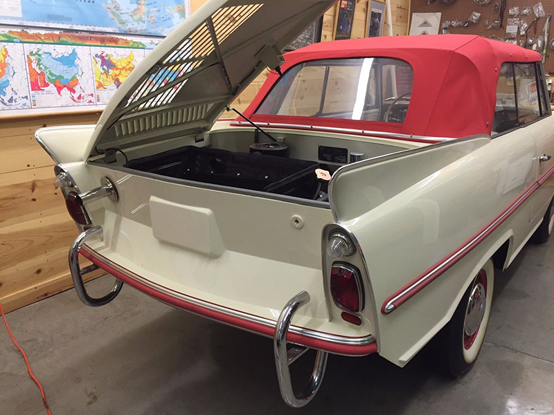 Now On Ebay The Best Classic Amphibious Car In North America Ebay Motors Blog