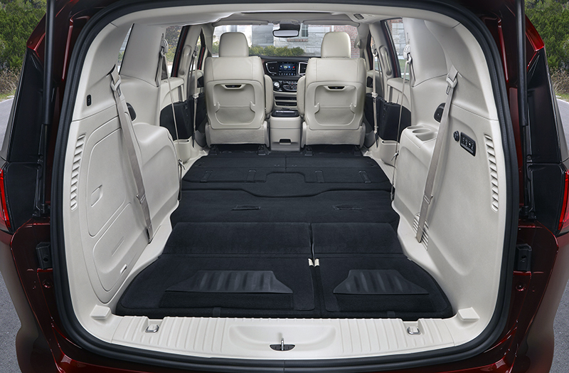 Tent Versus Minivan. The 2017 Chrysler Pacifica has a lot of interior real estate. & Turn Your SUV into a Portable Campsite | eBay Motors Blog
