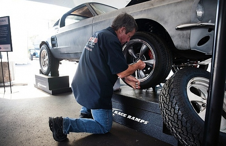 The Ebay Motors 67 Mustang Fastback Will Ride High On Knobby Tires Ebay Motors Blog