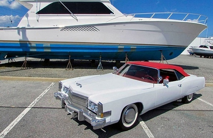 The King of the Road: A Restored 1974 Cadillac Eldorado Convertible