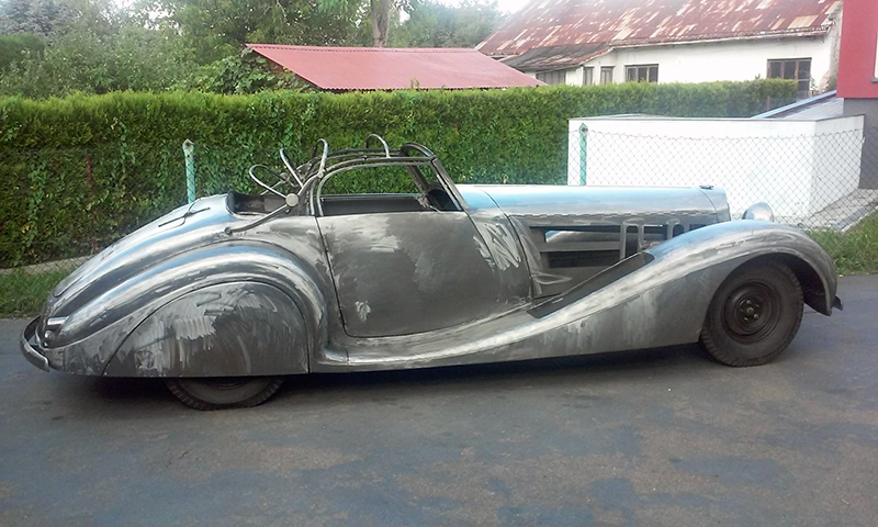 Don 39 t have 10 million for a mercedes 540k check out this for Ebay motors mercedes benz