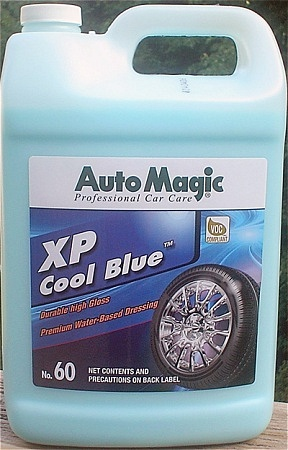 XP Cool Blue tire dressing