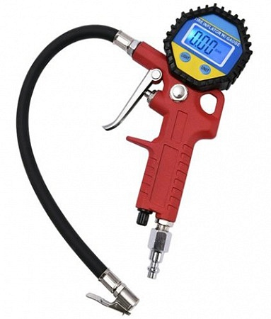 MICTUNING portable tire inflator and gauge