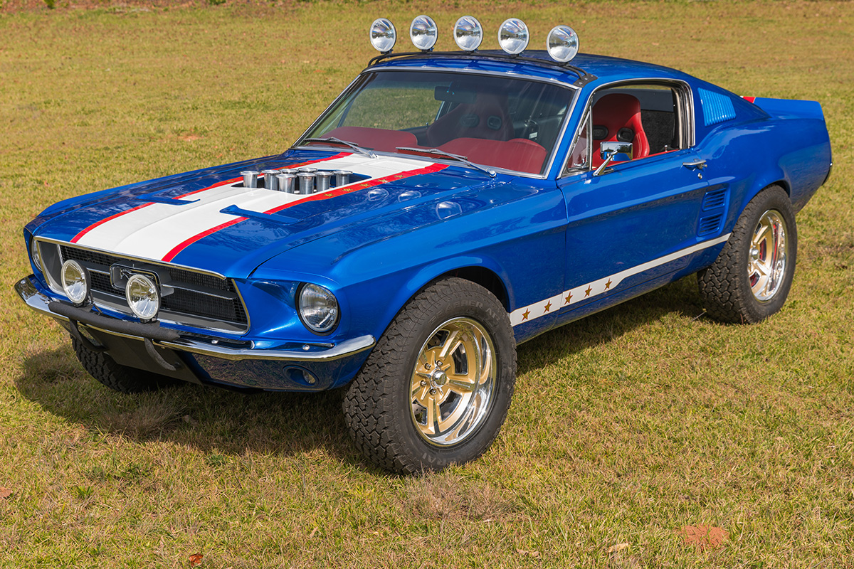 Charity Auction Begins for Rutledge Wood\'s Rowdy \'67 Mustang ...