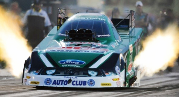 John Force is one of the winningest drivers in NHRA history.