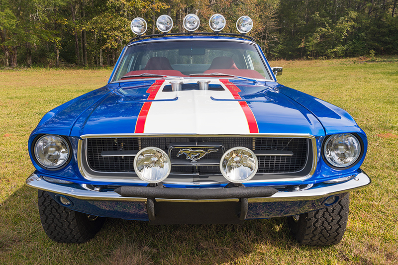 Charity Auction Begins For Rutledge Wood S Rowdy 67 Mustang Fastback Ebay Motors Blog