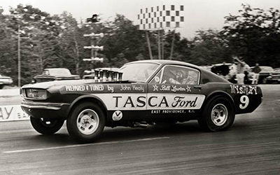 1966 Ford Mustang Tasca Drag Race Photo