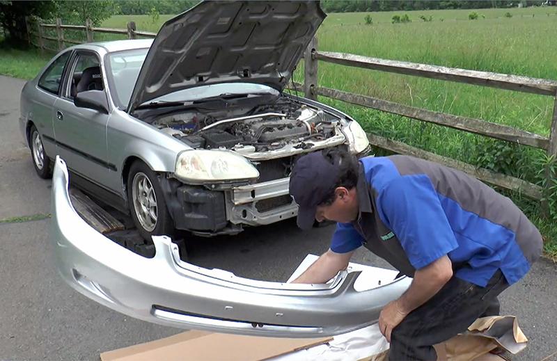 Easy DIY: Bumper Replacement