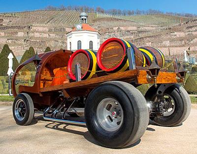 Gerry Nimz's Wine-Barrel Hotrod