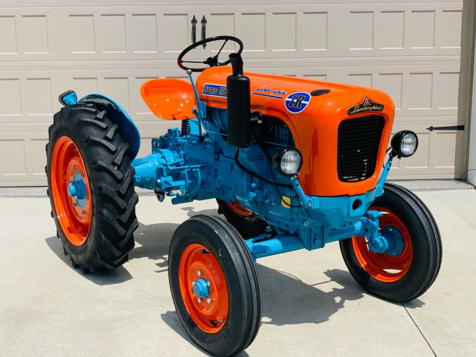 A Lamborghini Tractor Is for the Lambo Fan Who Has Everything