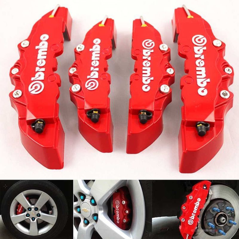 Brake-caliper covers are an easy and inexpensive way to add style to your vehicle.