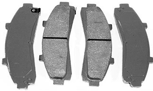 Ceramic brake pads enhance stopping power while keep your wheels clean.