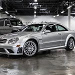 On eBay Motors: Lowest-Mileage CLK 63 AMG Black Series in Existence
