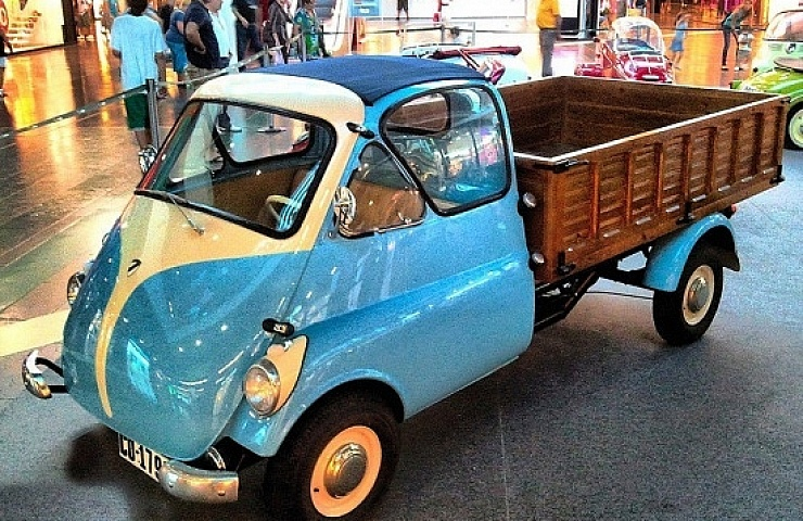 Ebay Auction A Very Rare And Cute Italian Micro Pickup Truck Ebay Motors Blog