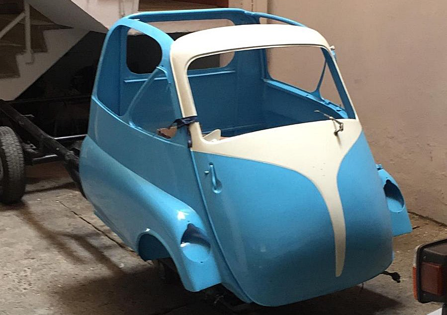 eBay Auction: A Very Rare and Cute Italian Micro Pickup Truck | eBay ...