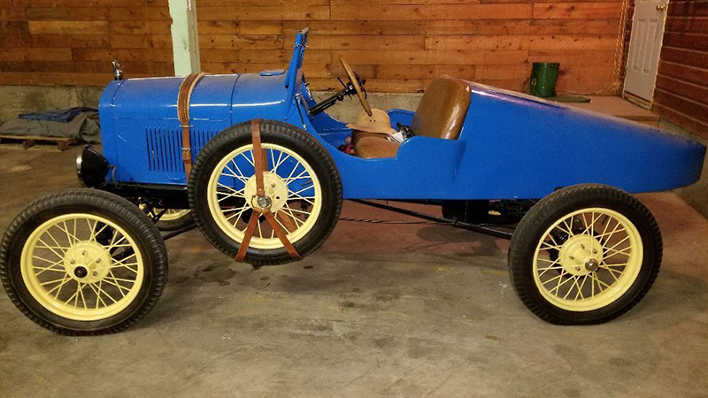 1926 steel-bodied boat-tail Ford Model T