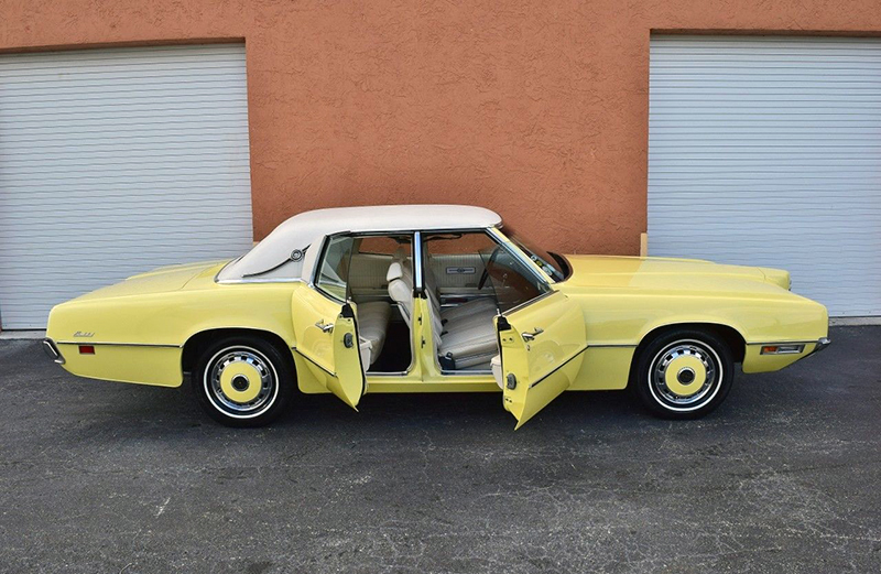 1971 Ford Thunderbird & Gull-Wing Sliding Scissors and Suicide Doors | eBay Motors Blog