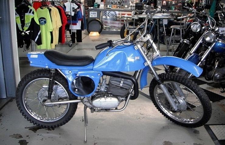 1973 Rickman Metisse Zundapp A Classic British German Dirt Racer Ebay Motors Blog
