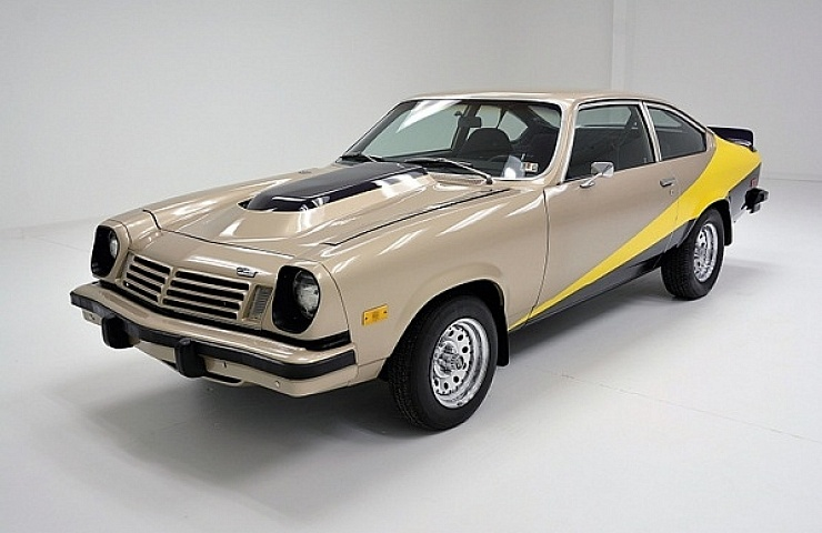 A Rare And Rust Free 1974 Chevy Vega Sports Custom Features Ebay